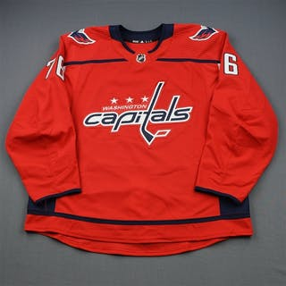 Gustafsson, Hampus Red Set 1 - Game-Issued (GI) Washington Capitals