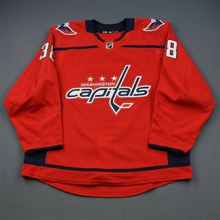 Williams, Colby Red Set 1 - Preseason Only Washington Capitals 2018-19