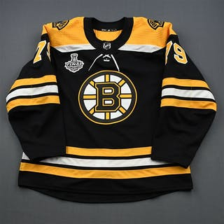 Lauzon, Jeremy Black Stanley Cup Final Set 1 - Game-Issued (GI) Boston
