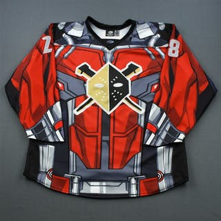 Birks, Dane MARVEL Ant-Man Game-Worn Jersey w/ Socks - worn Nov. 21