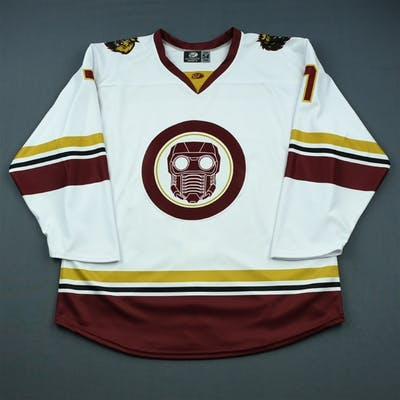Carlisle, Chris MARVEL Star Lord Game-Issued Jersey -December 15