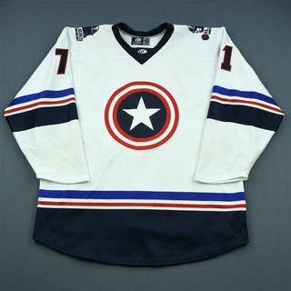 Thomas, Jared White - Captain America - Autographed 2018-19 #71 Size: 56