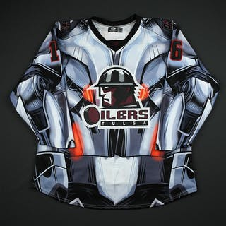 DeSalvo, Dan Black Ultron Jersey - Autographed - First Period Only