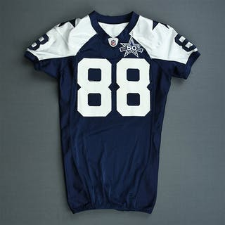 Bryant, Dez * Blue w/ 50th Season patch - worn November 25, 2010 vs.
