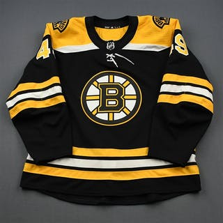 Fayne, Mark Black Set 1 - Preseason Only Boston Bruins 2018-19 #49 Size: 56