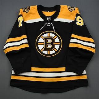 Lauzon, Jeremy Black Set 1 - NHL Debut & 1st NHL Goal Boston Bruins