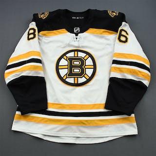 Miller, Kevan White Set 3 / Playoffs - Game-Issued (GI) Boston Bruins