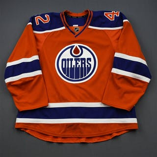 Slepyshev, Anton * Orange Set 1 Edmonton Oilers 2015-16 #42 Size: 58
