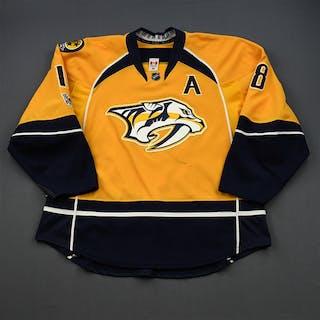 Neal, James * Gold Set 2 / Playoffs w/A, w/ NHL Centennial Patch Nashville