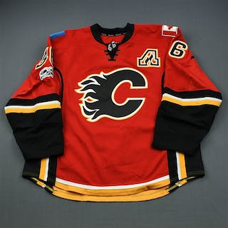 Brouwer, Troy * Red Set 2 w/A Calgary Flames 2016-17 #36 Size: 58