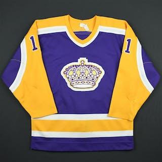 Shutt, Steve * Purple Los Angeles Kings 1984-85 #11 Size: NA