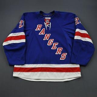 Fedotenko, Ruslan * Blue New York Rangers 2011-12 #26 Size: 58