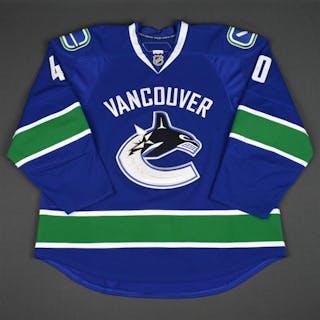 Lapierre, Maxim * Blue Set 2 Vancouver Canucks 2010-11 #40 Size: 58