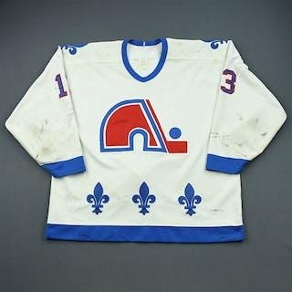 Sundin, Mats * White Quebec Nordiques 1993-94 #13 Size: 56