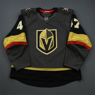 Oligny, Jimmy Gray Set 1 - Game-Issued (GI) Vegas Golden Knights 2018-19 47 56