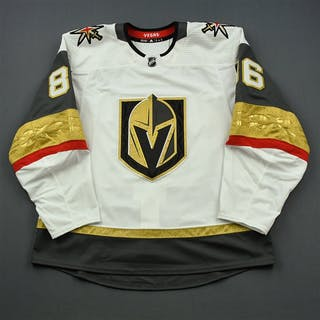 Owre, Steve White Set 1 - Game-Issued (GI) Vegas Golden Knights 2018-19