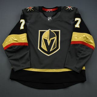 Zykov, Valentin Gray Stanley Cup Playoffs - Game-Issued (GI) Vegas