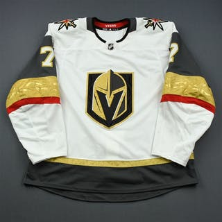 Zykov, Valentin White Stanley Cup Playoffs - Game-Issued (GI) Vegas