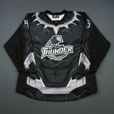Wilson, Jared MARVEL Black Panther - Autographed Jersey and Socks