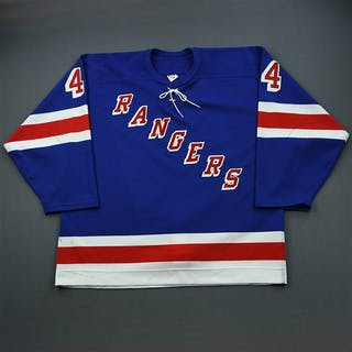 Green, Josh * Blue 3rd Regular Season - Photo-Matched New York Rangers