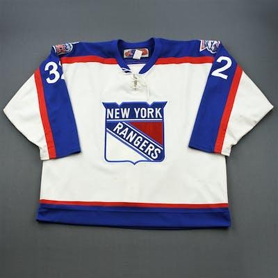 Burnett, Garrett * New York Rangers Throwback Hartford Wolf Pack 2002-03 #32