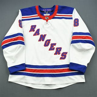 McLeod, Cody * White Set 3 New York Rangers 2017-18 #8 Size: 58