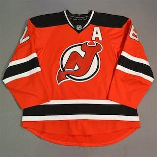 Elias, Patrik * Red Set 1 w/A New Jersey Devils 2014-15 #26 Size: 56