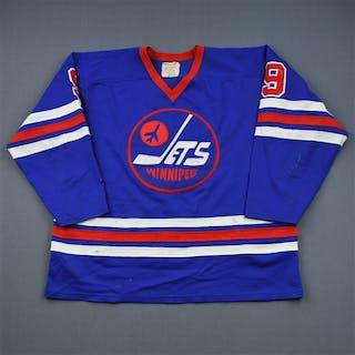 Hull, Bobby * Blue Winnipeg Jets 1976-77 #9 Size: L