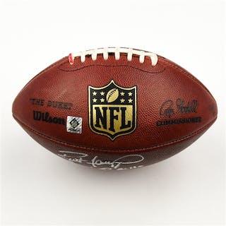 Favre, Brett * Game-Used Football from 11/2/08 vs. Buffalo Bills -