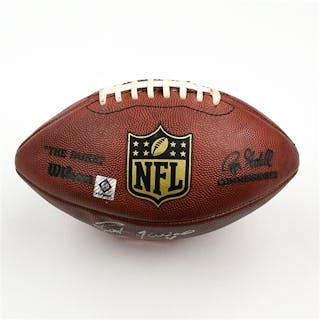 Favre, Brett * Game-Used Football from 11/30/08 vs. Denver Broncos