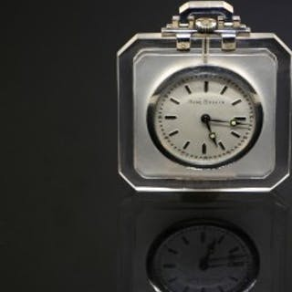 A French Rock Crystal Pocket Watch by René Boivin