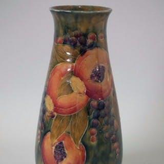 William Moorcroft Pomegranate Vase, made for Liberty & Co