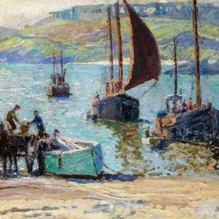 Return of the Fishing Boats, St. Ives