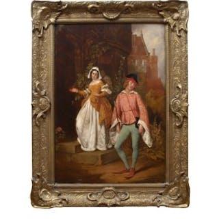 One painting by John Callcott Horsley