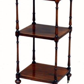 Antique Rosewood Whatnot Etage