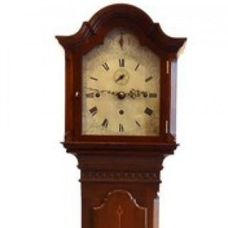 Westminster chiming mahogany Grandmother Clock