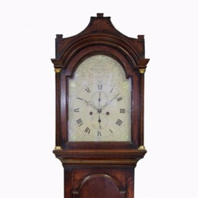 8-day Oak Longcase clock by Coster, Henley