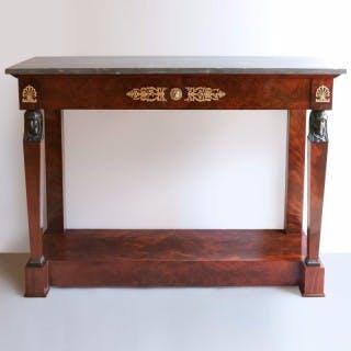 "EARLY 19TH CENTURY ""RETOUR D'EGYPTE"" CONSOLE TABLE Circa 1805"