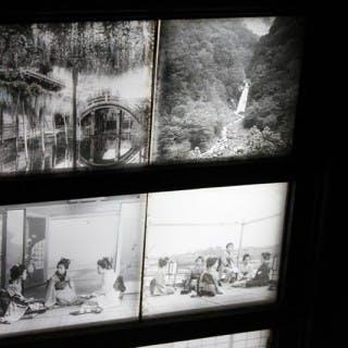 A Stunning Group of Twenty-Four Light-Box Framed Late 19thC Lantern