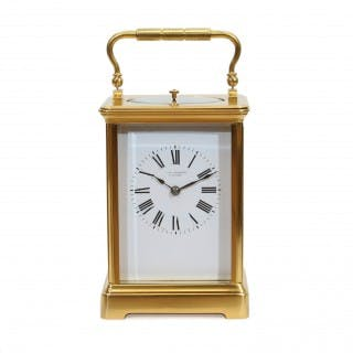 Striking Repeating Carriage Clock by J.W. Benson