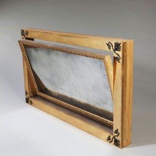 Regency Parcel Gilt Patent Overmantel Mirror
