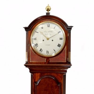 Mahogany Longcase Clock, by James McCabe