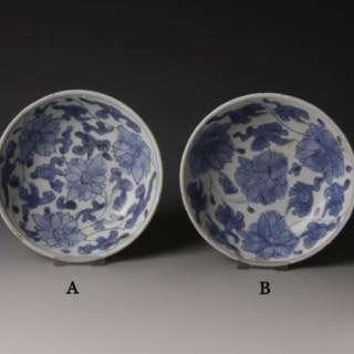 Chinese Kangxi Blue and White Dish