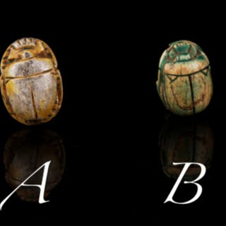 Selection of Egyptian Scarabs