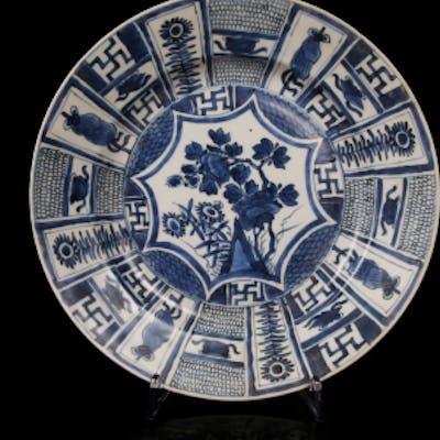 Kangxi decorative dish