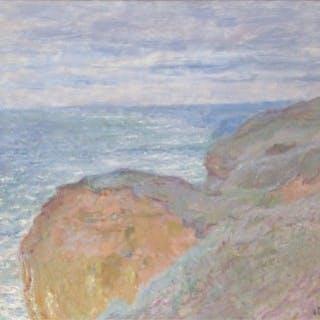 Près Dieppe, reflets sur la mer, 1897