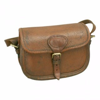 Leather Payne Galwey Cartridge Bag