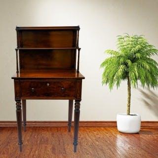 Gillows Antique Mahogany Writing Table Small Desk