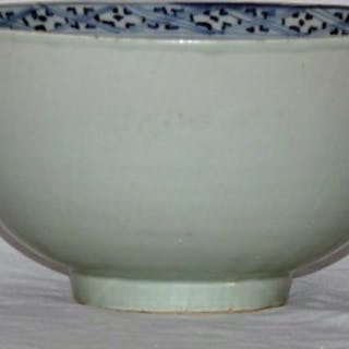 Ming Blue and White Deep Bowl