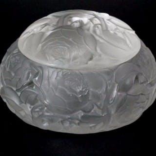 Rene Lalique Glass Box - 'Dinard'